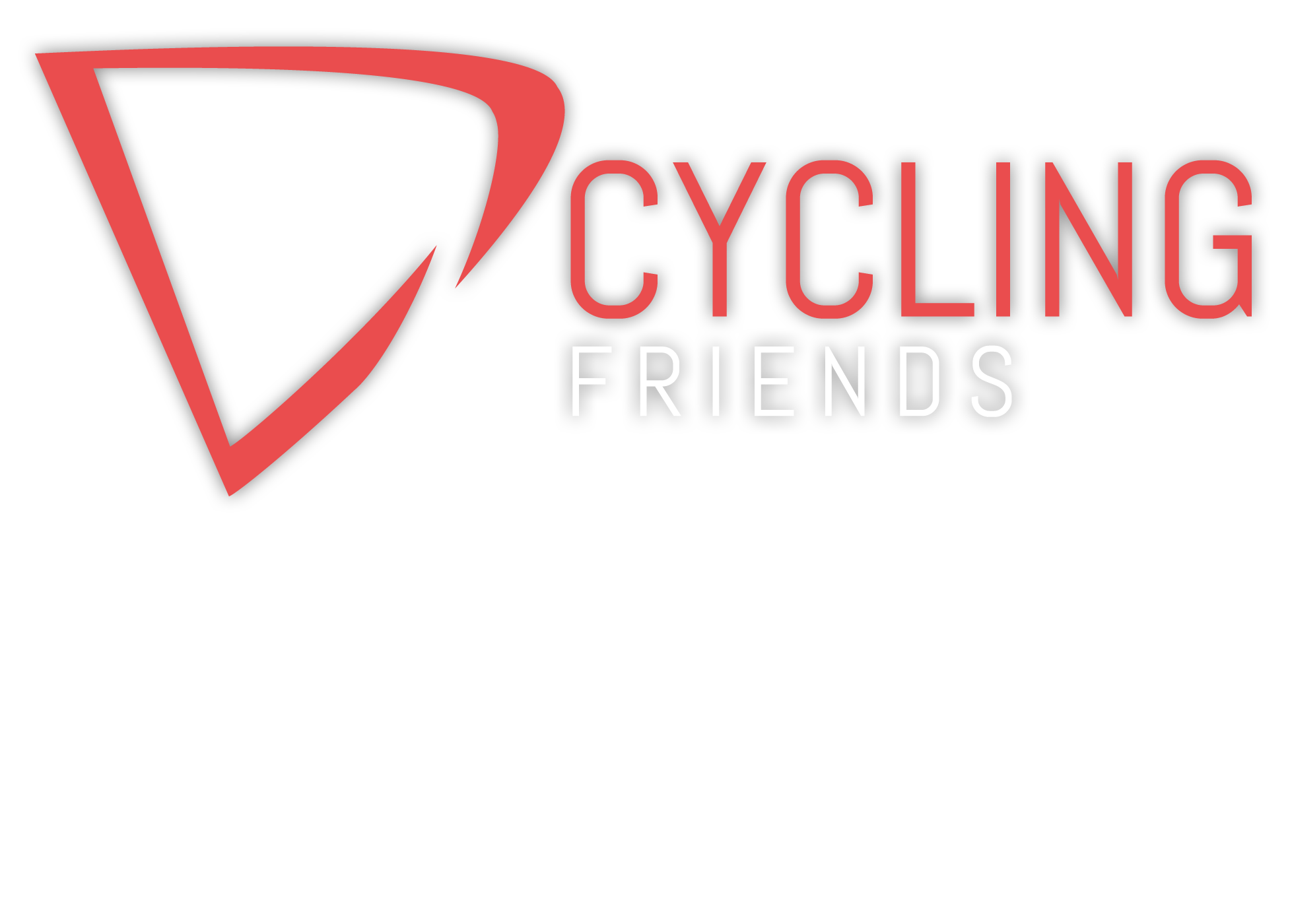Logo_Cycling-Friends_Friends-weiss_Schatten